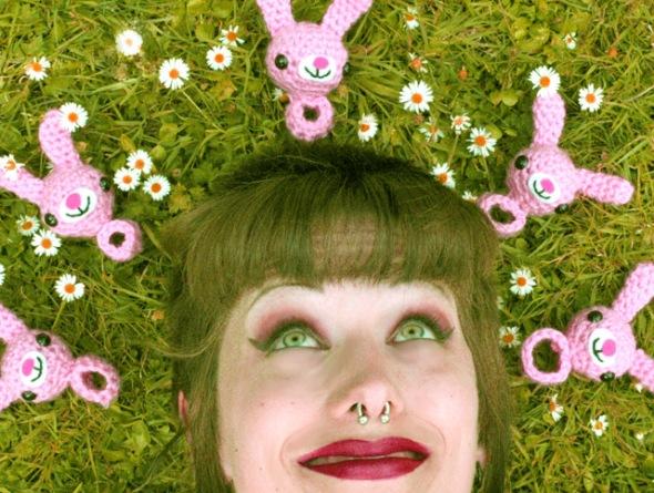 Croshame The Bunny Ring - Easter #crochet