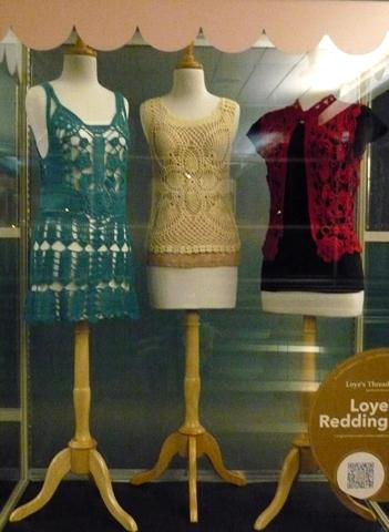 DIA Crochet Display