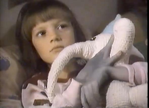 Ramona Q's crocheted toy
