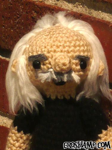 Paul Doll closeup