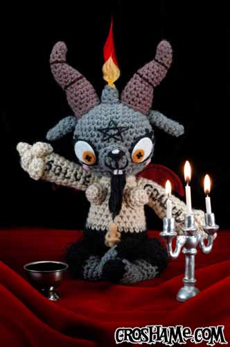Baphomet with Candles full