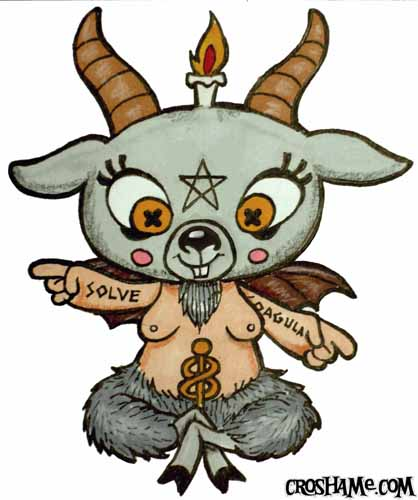 Baphometsy drawing