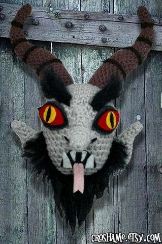 Krampus Door Knocker