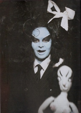 Kembra with doll Dizzy